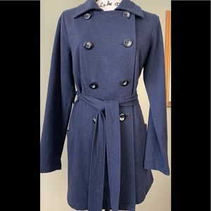 CAbi double breasted trench coat size M